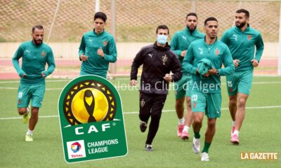 caf cl mca mouloudia groupe entrainement benaldjia lamara