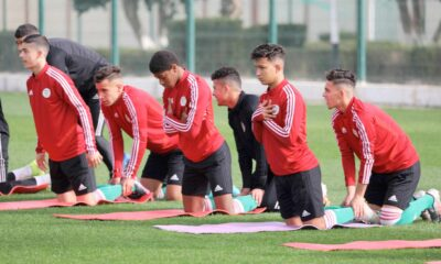 laalam abdelghani u17 entrainement jeunes
