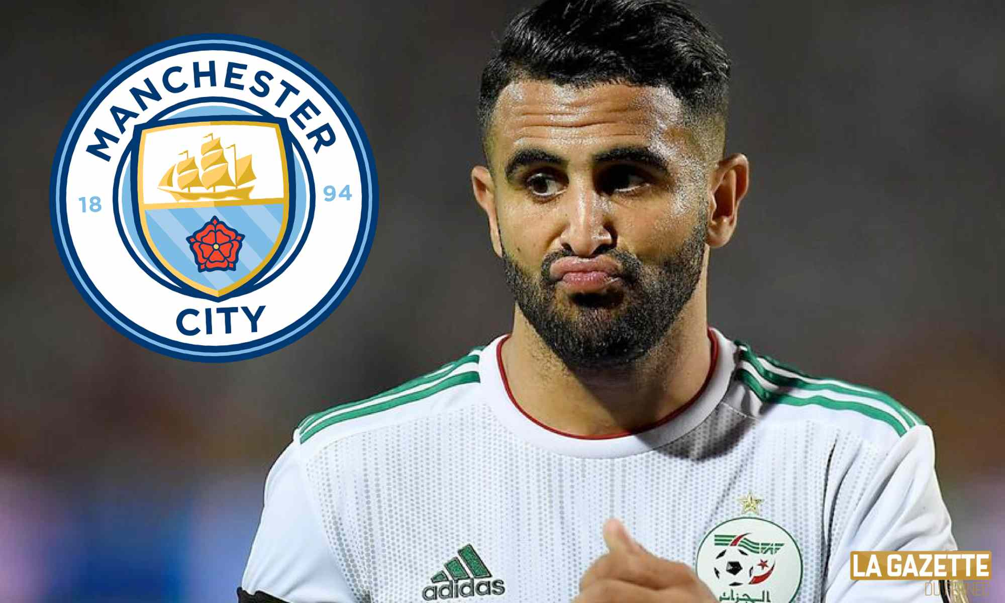 mahrez en man city grise mine