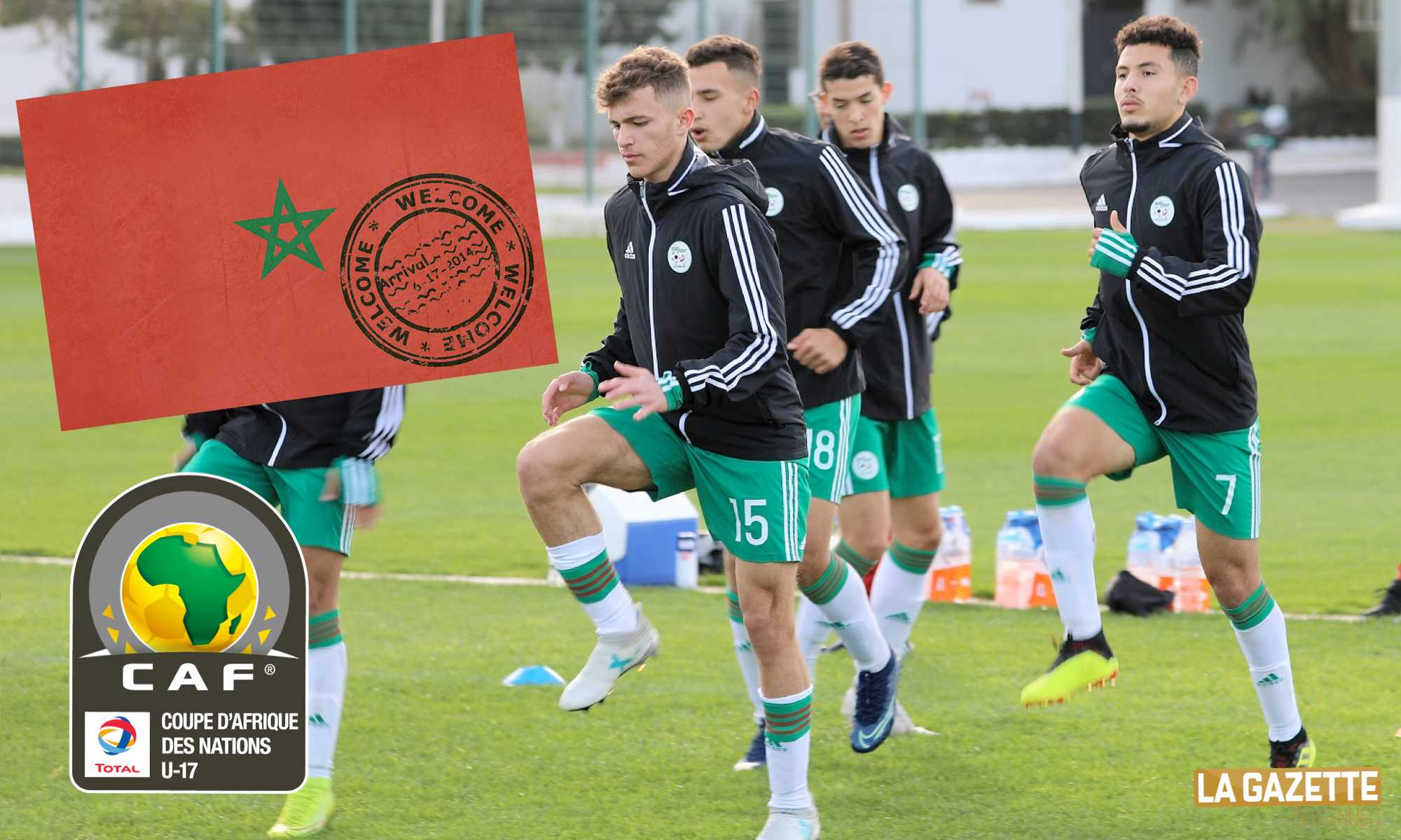 maroc entree can U17 cadet