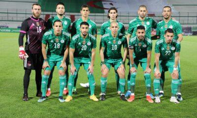 team onze algerie botswana 5 0 tchaker mars 2021