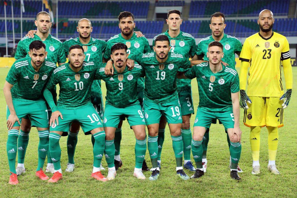 team onze algerie zambie 3 3 lusaka mars 2021