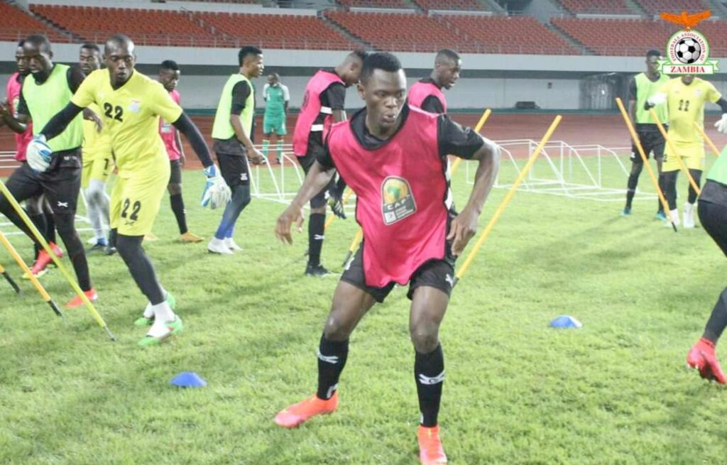 zambia chipolopolo entrainement lusaka stadium