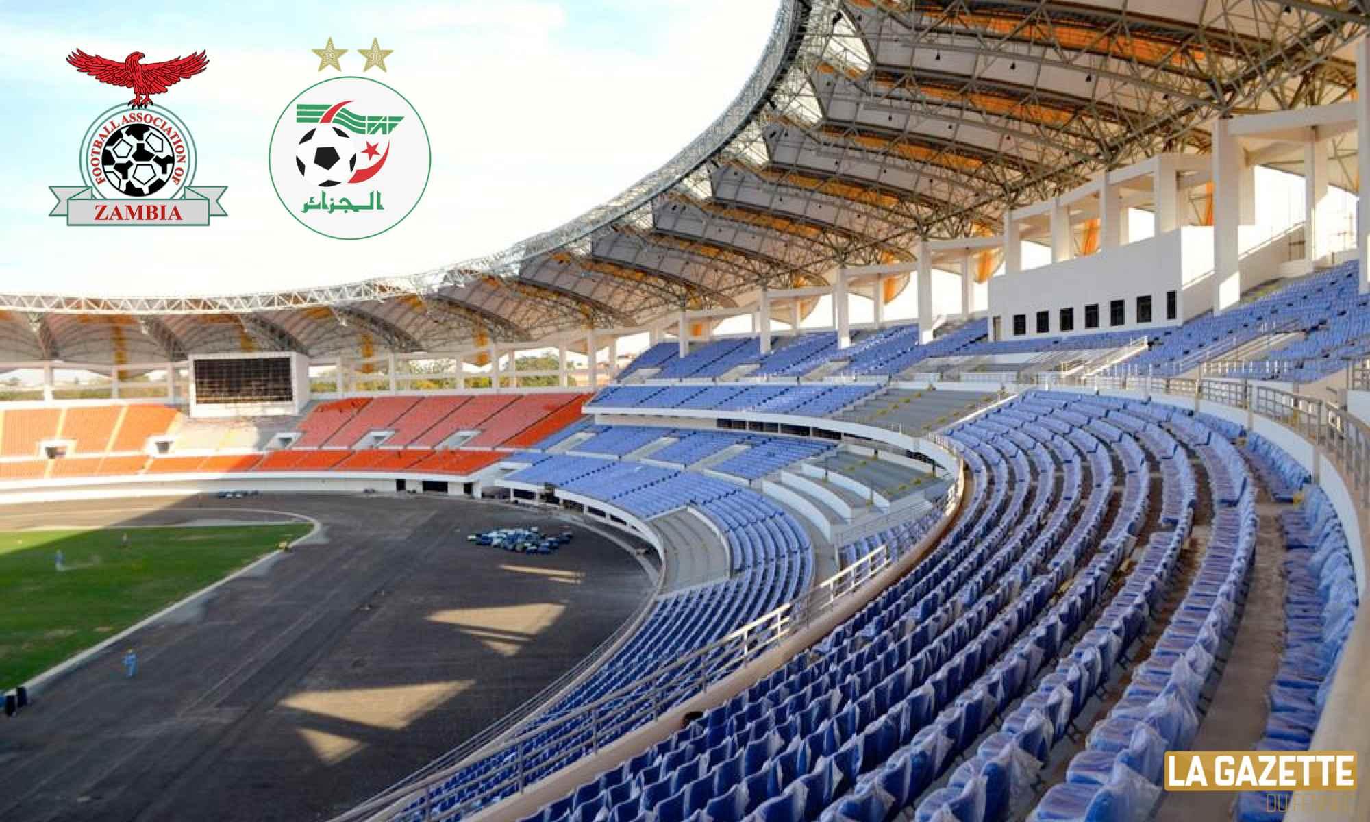 zambie algerie a lusaka stadium