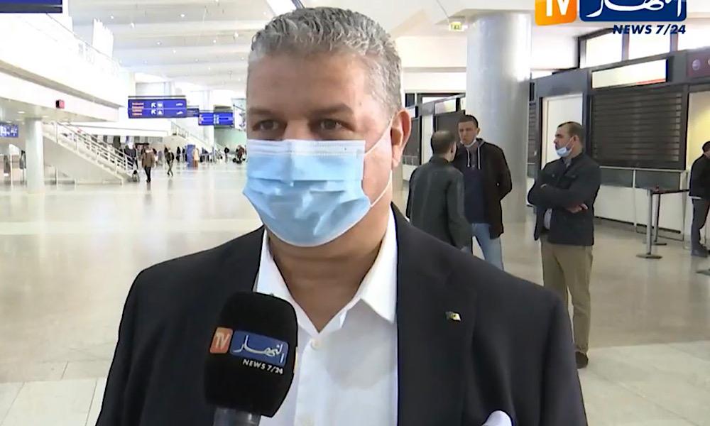 Arama Alger départ Qatar