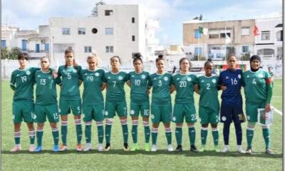 Algérie Classement FIFA Football Féminin
