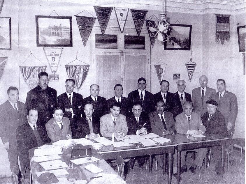 Membres fondateurs de la FAF 1962 mohand maouche
