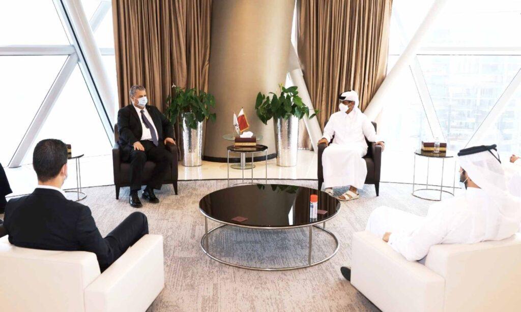 amara charaf reunion faf qfa qatar memorandum collaboration al thani