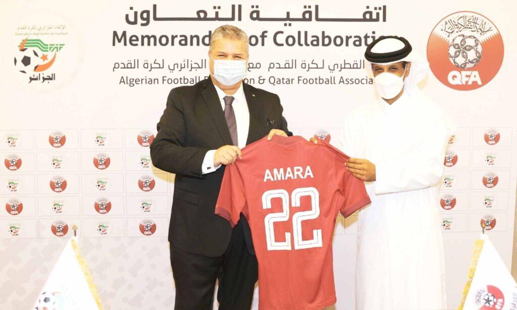amara faf qfa qatar memorandum collaboration al thani