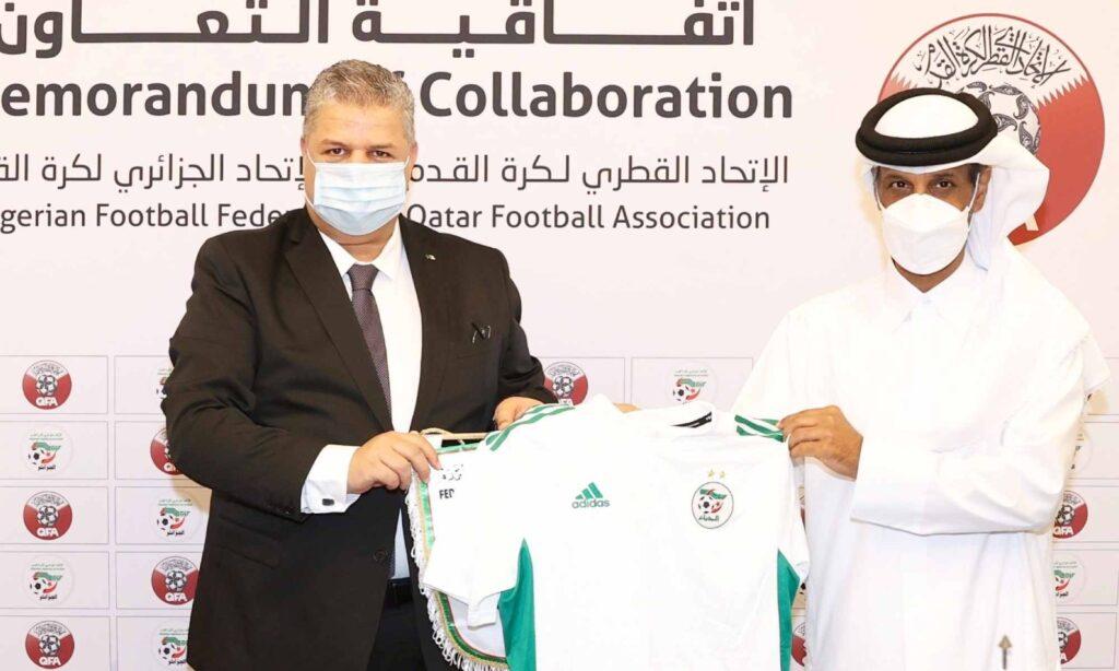 amara maillot faf qfa qatar memorandum collaboration al thani