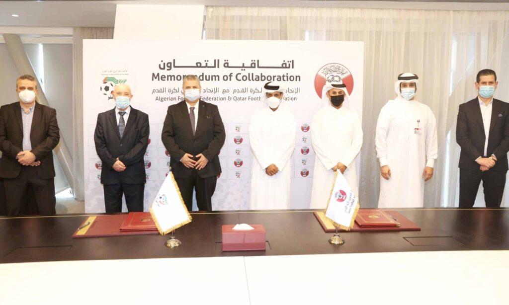 amara saad reunion faf qfa qatar memorandum collaboration al thani