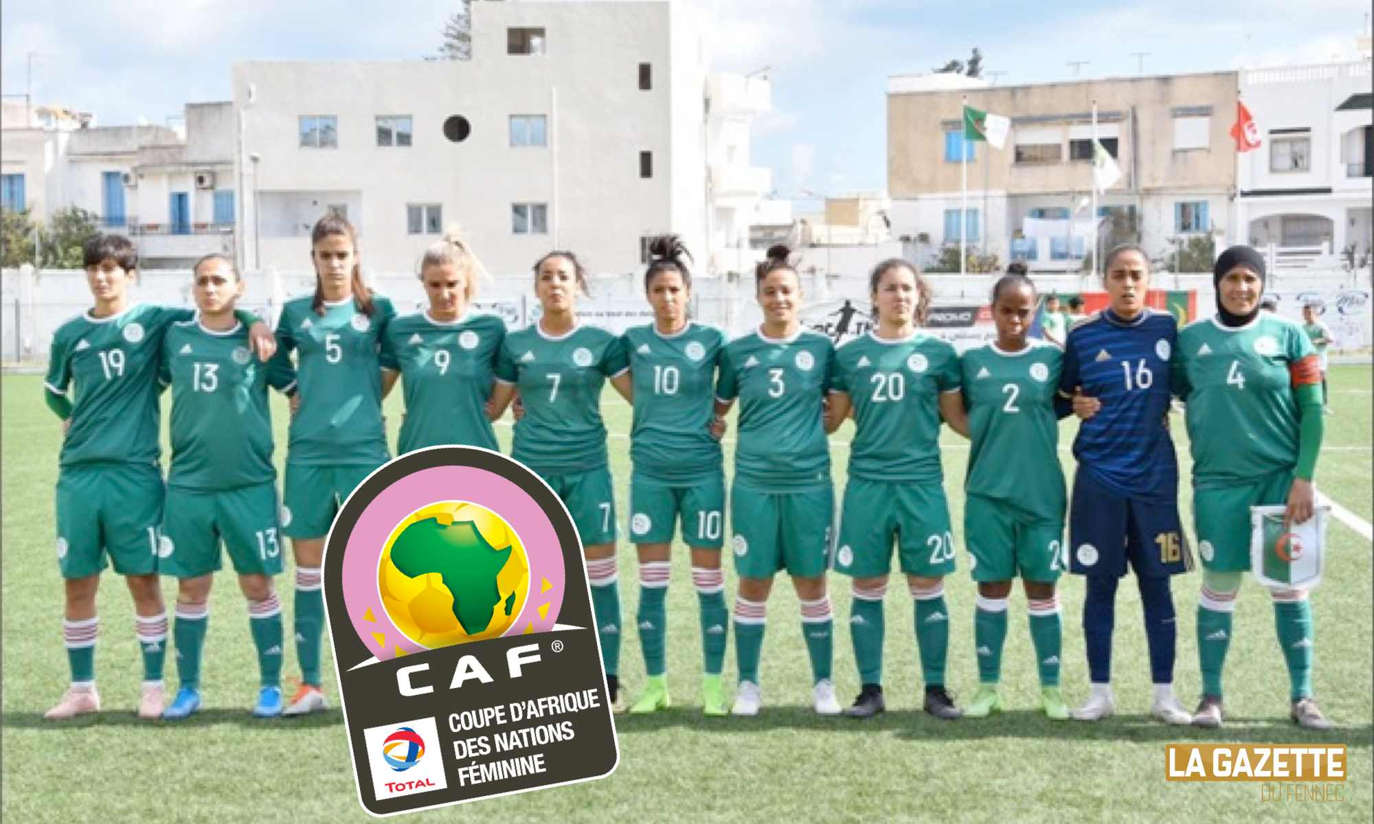 feminine can team algerie