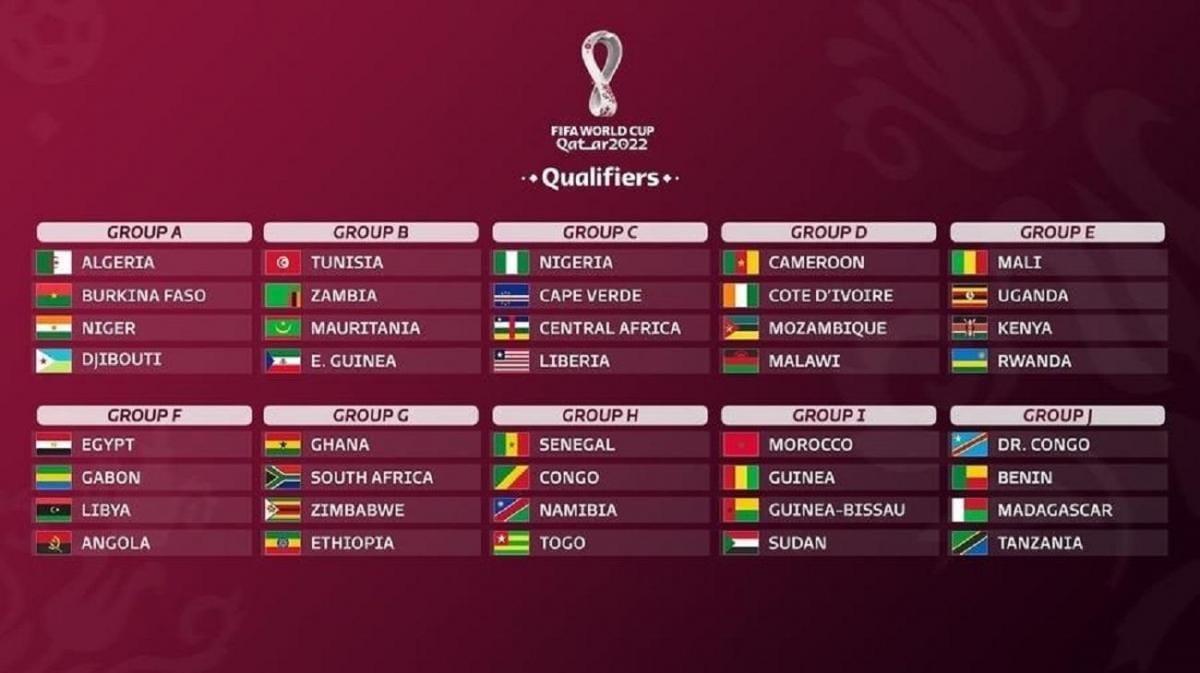 groupe afrique qualifications cm 2022 qatar
