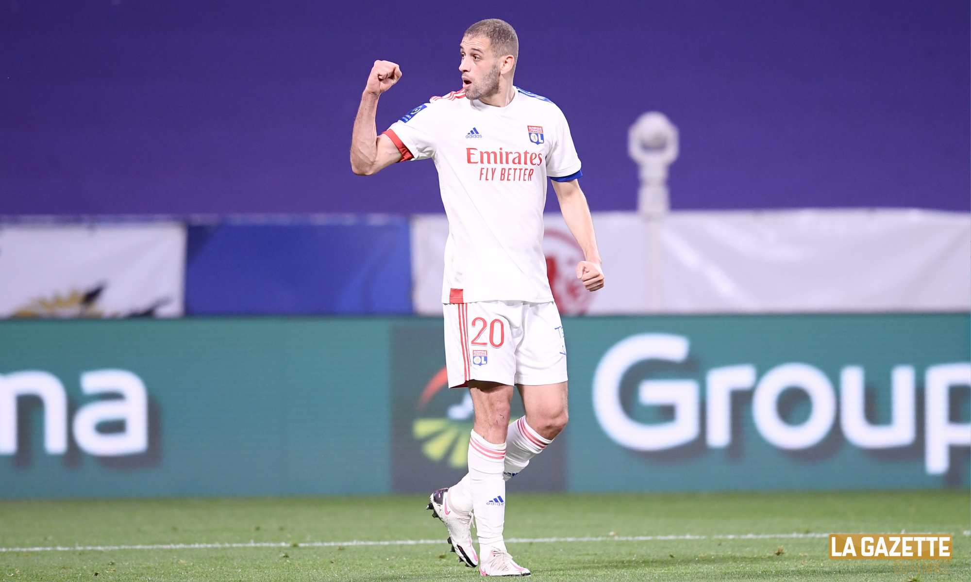 slimani groupama stadium ol lyon but
