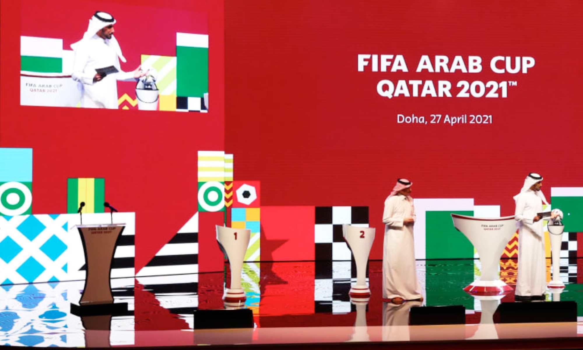 tirage qatar fifa arab cup 2021