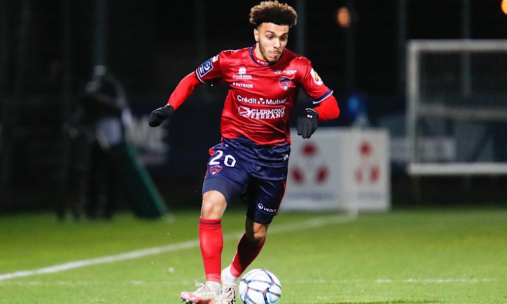Akim Zedadka Ligue 2 Clermont Foot 63