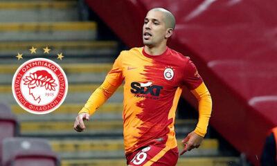 Sofiane Feghouli Olympiacos Galatasaray