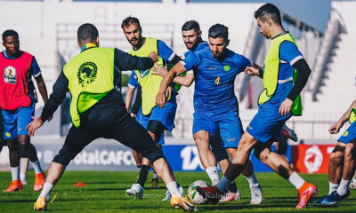 JS Kabylie CAF CC entraînement