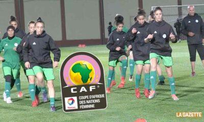 can feminine algerie entrainement