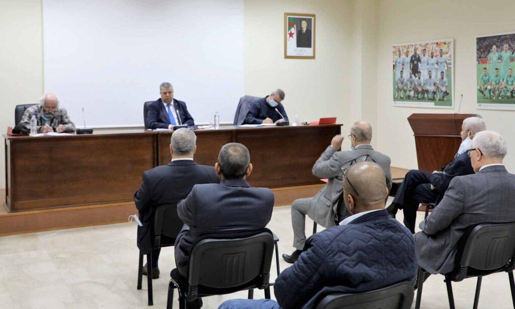 charaf eddine amara preside cadre reunion saad maouche bureau