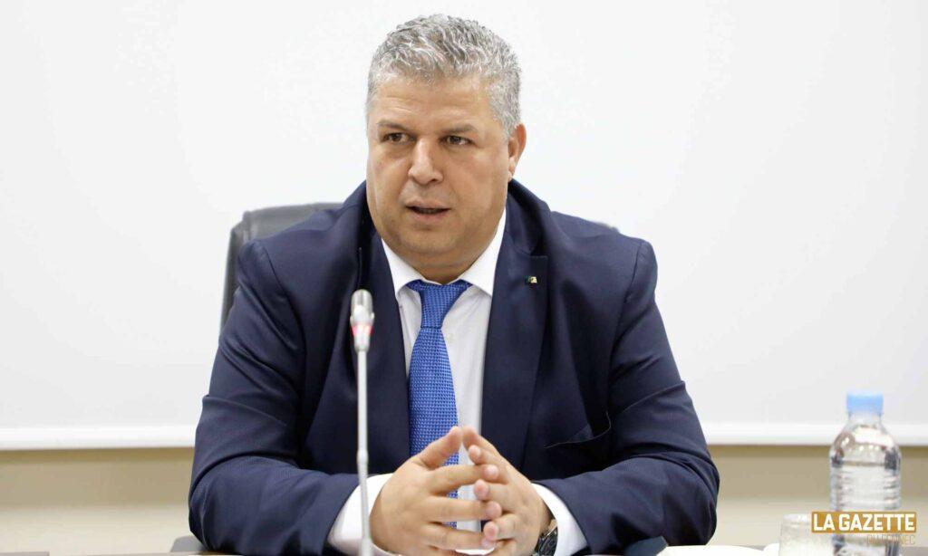 charaf eddine amara preside reunion bureau