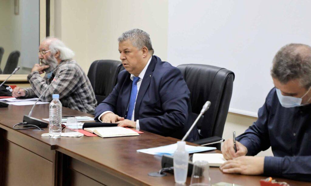 charaf eddine amara preside reunion saad maouche bureau