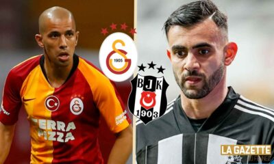 Turquie Superlig feghouli ghezzal besiktas galatasaray derby