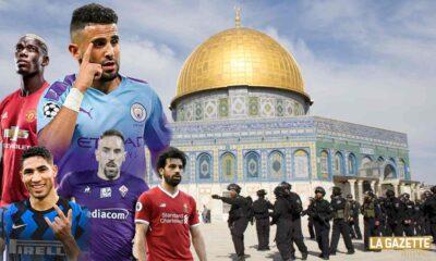 jerusalem al qods occupee mahrez salah hakimi ribery soutien palestine