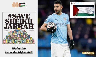 mahrez palestine soutien