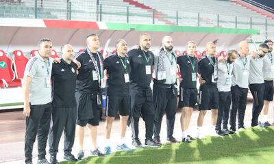 Djamel Belmadi staff Algérie Mauritanie