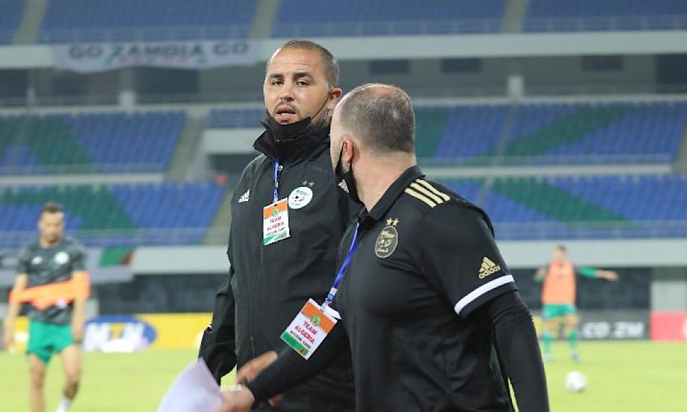 Madjid Bougherra Djamel Belmadi