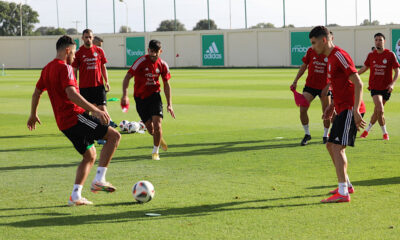 Fennecs algérie Bedrane Slimani Belaili entraînement