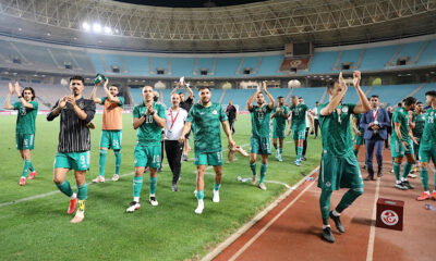 Équipe nationale Bounedjah Feghouli Benlamri Belaili