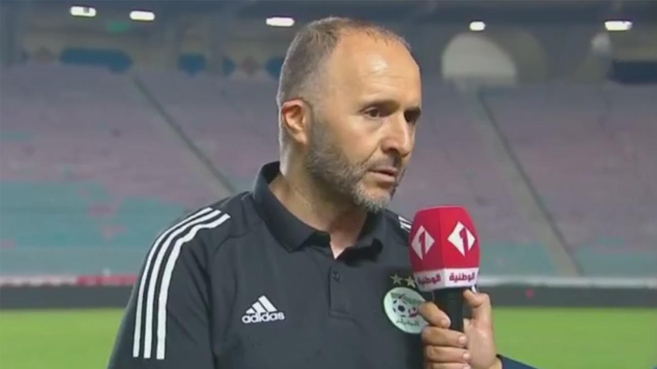 Djamel Belmadi Tunisie Algérie