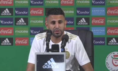 Riyad Mahrez conférence de presse