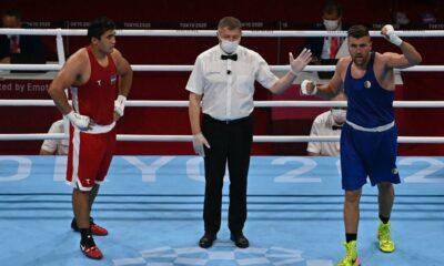 Benchabla boxe tsuronov tokyo 2020 huitieme