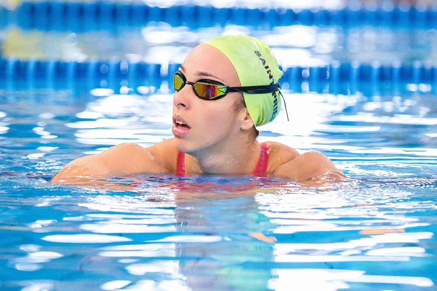 amel melih bassin natation