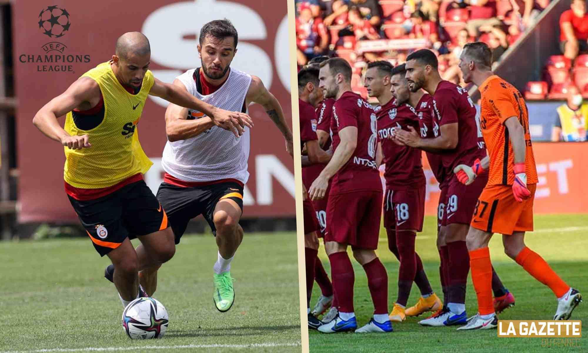 feghouli bouhenna ldc uefa preliminaire