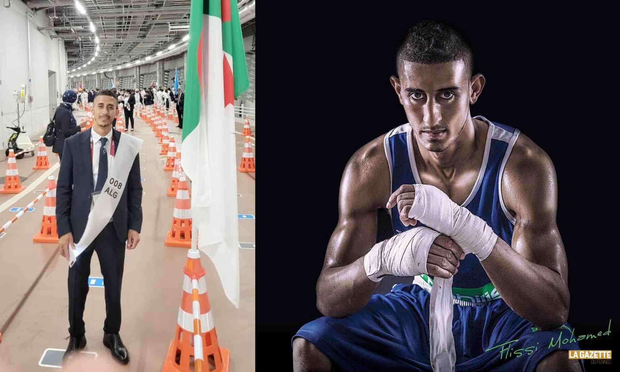 flissi mohamed boxe 52kg tokyo 2020