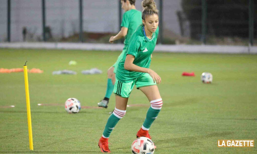 foot feminin en joueuse stage ctn 27 juillet 2021