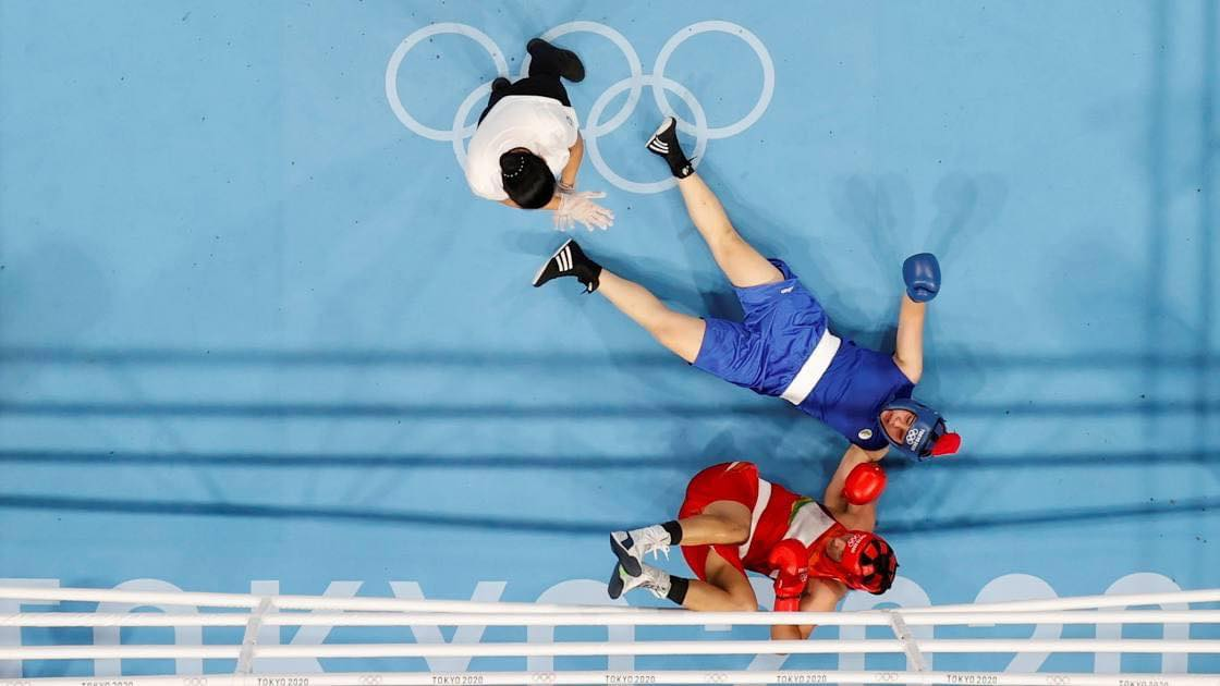 ishrak chaib boxe feminine ko au sol jo 2020