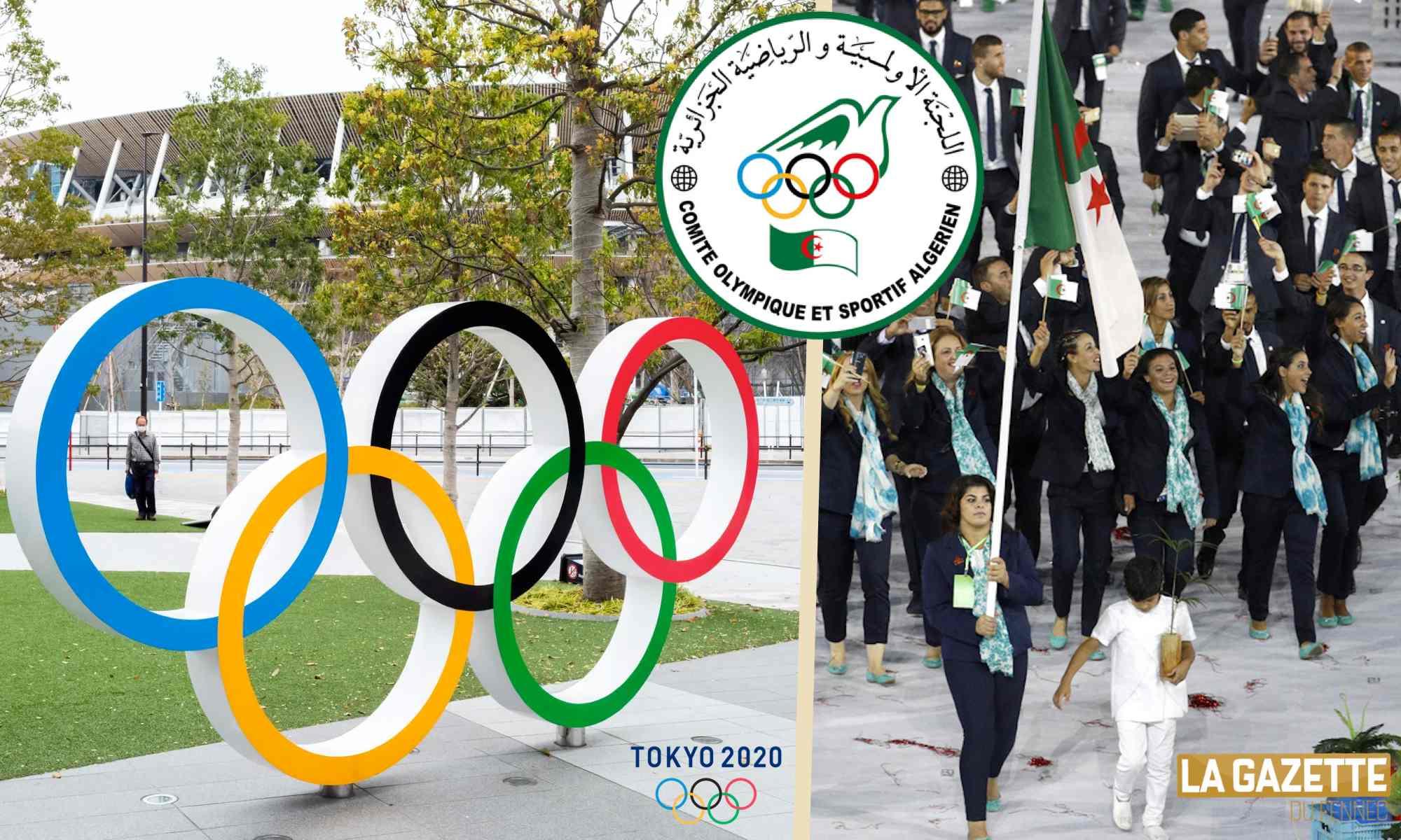 jo tokyo algerie delegation dz coa
