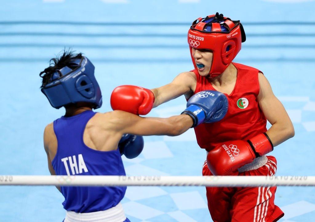 roumaysa boualem boxe feminine jo 2020 elimination