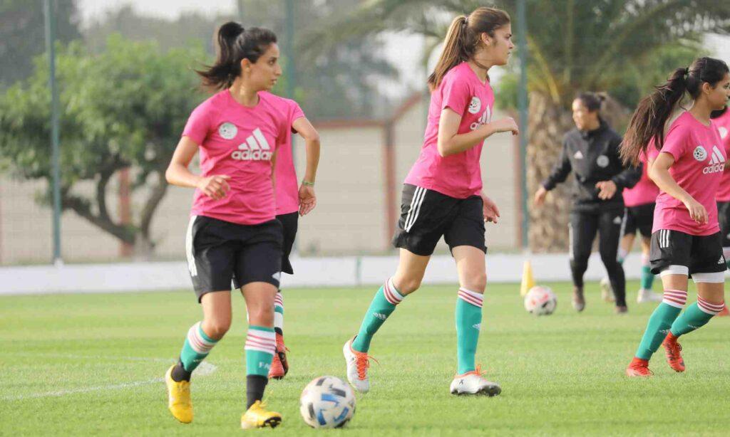 selection feminine rose bouhenni entrainement 2021