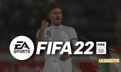 Bounedjah FIFA photo éditée par La Gazette du Fennec