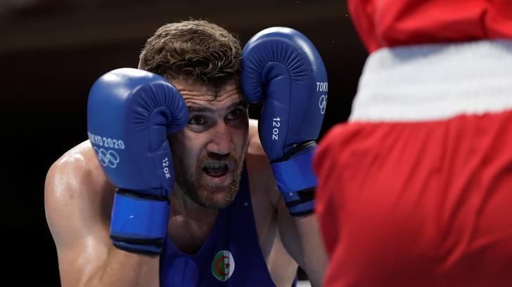 boxe jo 2020 algerie benchebla defaite