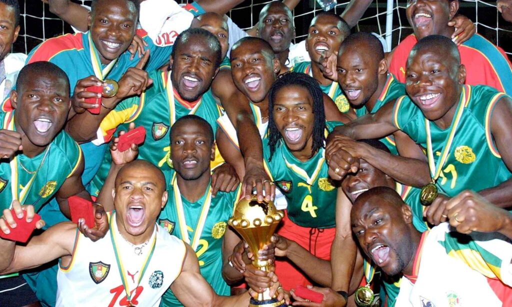 cameroun 2002 mboma etoo song trophee can caf sacre palmares