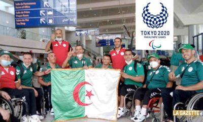 depart delegation jeux paralympiques tokyo 2020 aeroport