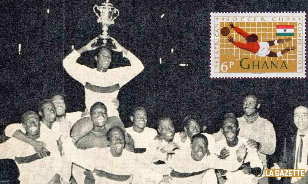 ghana 1965 trophee can caf sacre