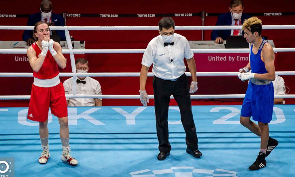 imane khelif arbitre tokyo harrington ireland boxe 2020
